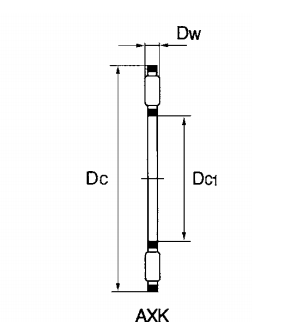Thrust Needle Roller And Cage Assembly